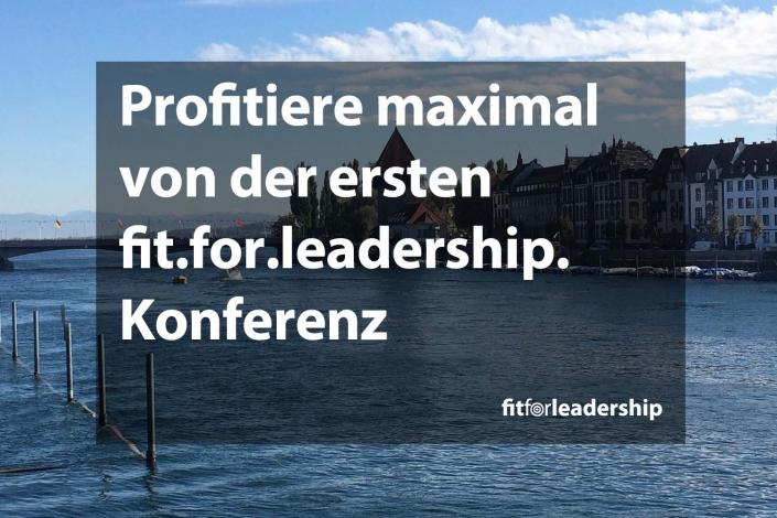 fit.for.leadership. Konferenz